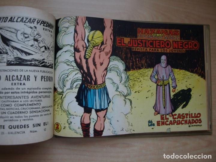 Tebeos: EL JUSTICIERO NEGRO - COLECCION COMPLETA - .24 NÚMEROS - VALENCIANA - Foto 16 - 168296604