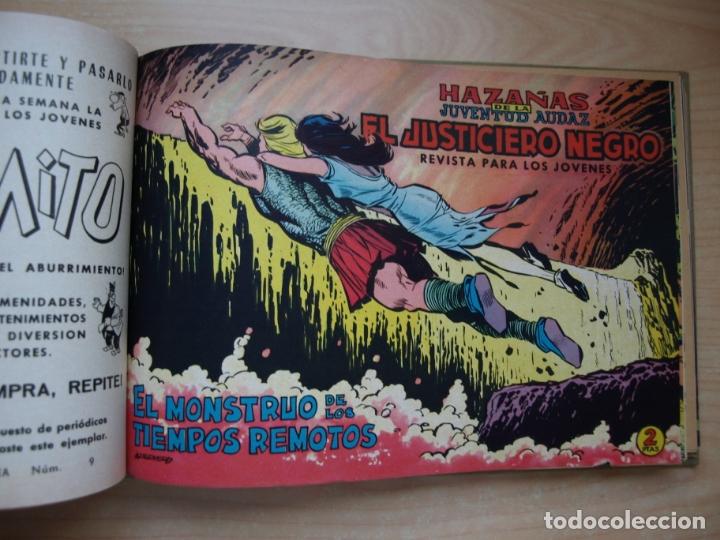 Tebeos: EL JUSTICIERO NEGRO - COLECCION COMPLETA - .24 NÚMEROS - VALENCIANA - Foto 19 - 168296604