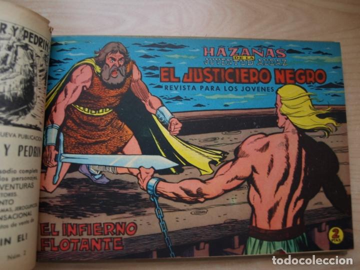 Tebeos: EL JUSTICIERO NEGRO - COLECCION COMPLETA - .24 NÚMEROS - VALENCIANA - Foto 26 - 168296604