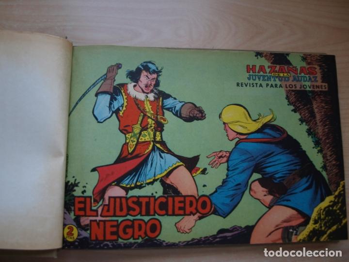 Tebeos: EL JUSTICIERO NEGRO - COLECCION COMPLETA - .24 NÚMEROS - VALENCIANA - Foto 28 - 168296604