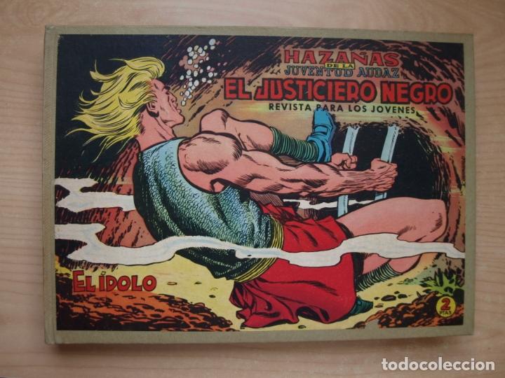 EL JUSTICIERO NEGRO - COLECCION COMPLETA - .24 NÚMEROS - VALENCIANA (Tebeos y Comics - Tebeos Colecciones y Lotes Avanzados)