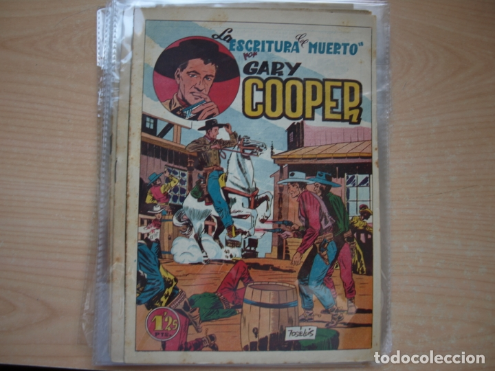 Tebeos: GARY COOPER - COLECCION COMPLETA - 14 NÚMEROS - EDICIONES JOVI - Foto 4 - 168297192
