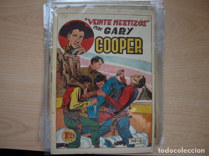 Tebeos: GARY COOPER - COLECCION COMPLETA - 14 NÚMEROS - EDICIONES JOVI - Foto 5 - 168297192