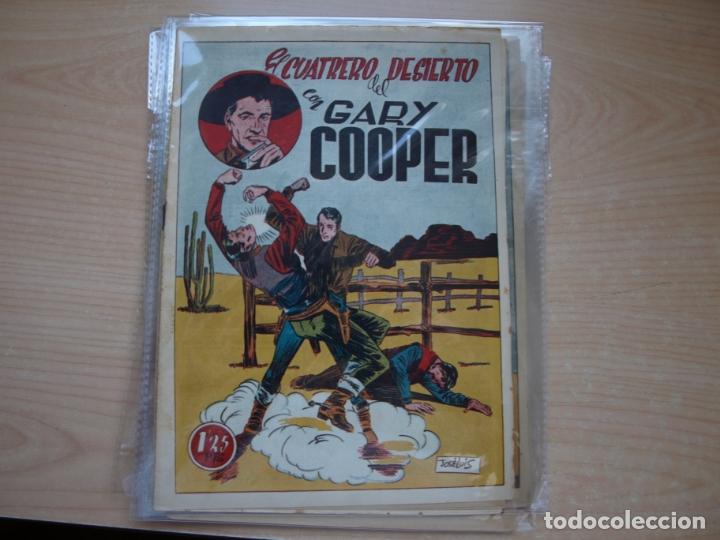 Tebeos: GARY COOPER - COLECCION COMPLETA - 14 NÚMEROS - EDICIONES JOVI - Foto 6 - 168297192