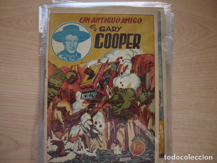 Tebeos: GARY COOPER - COLECCION COMPLETA - 14 NÚMEROS - EDICIONES JOVI - Foto 7 - 168297192