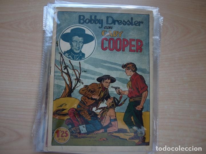 Tebeos: GARY COOPER - COLECCION COMPLETA - 14 NÚMEROS - EDICIONES JOVI - Foto 9 - 168297192