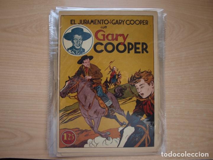 Tebeos: GARY COOPER - COLECCION COMPLETA - 14 NÚMEROS - EDICIONES JOVI - Foto 10 - 168297192