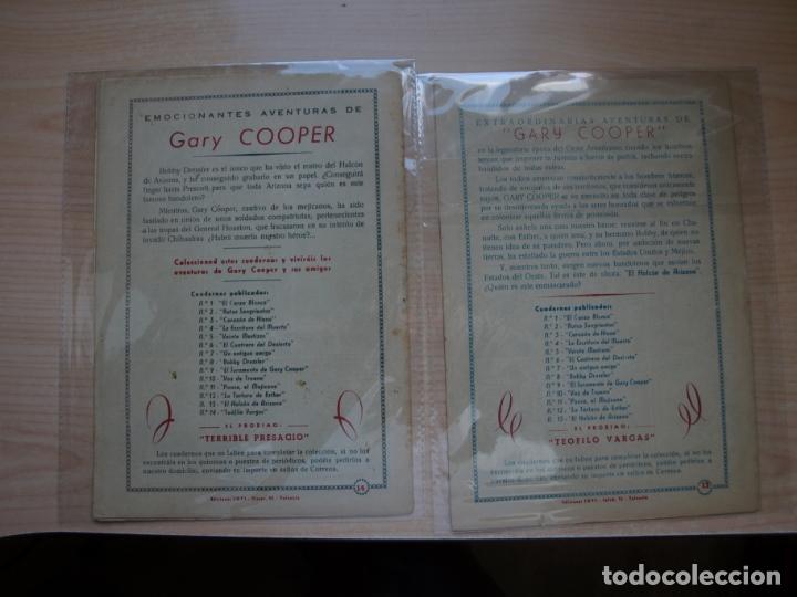 Tebeos: GARY COOPER - COLECCION COMPLETA - 14 NÚMEROS - EDICIONES JOVI - Foto 15 - 168297192