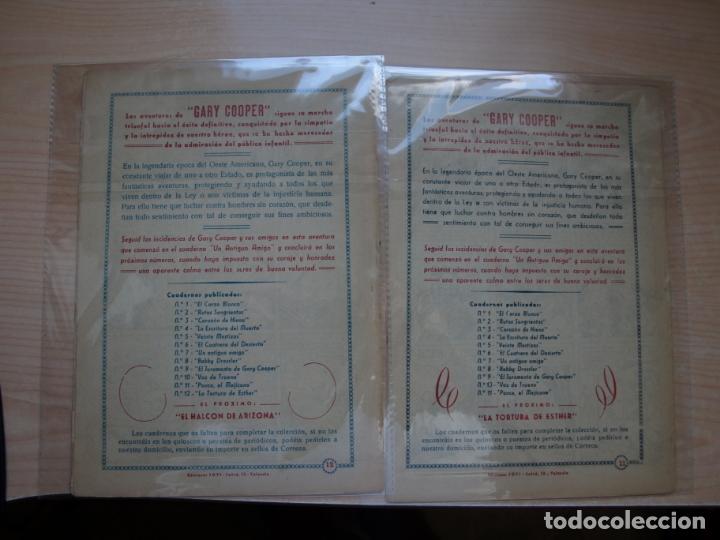 Tebeos: GARY COOPER - COLECCION COMPLETA - 14 NÚMEROS - EDICIONES JOVI - Foto 16 - 168297192