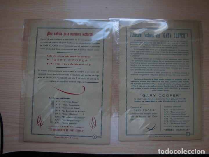 Tebeos: GARY COOPER - COLECCION COMPLETA - 14 NÚMEROS - EDICIONES JOVI - Foto 18 - 168297192
