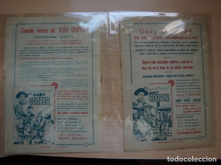 Tebeos: GARY COOPER - COLECCION COMPLETA - 14 NÚMEROS - EDICIONES JOVI - Foto 20 - 168297192