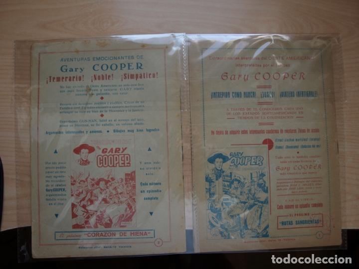 Tebeos: GARY COOPER - COLECCION COMPLETA - 14 NÚMEROS - EDICIONES JOVI - Foto 21 - 168297192