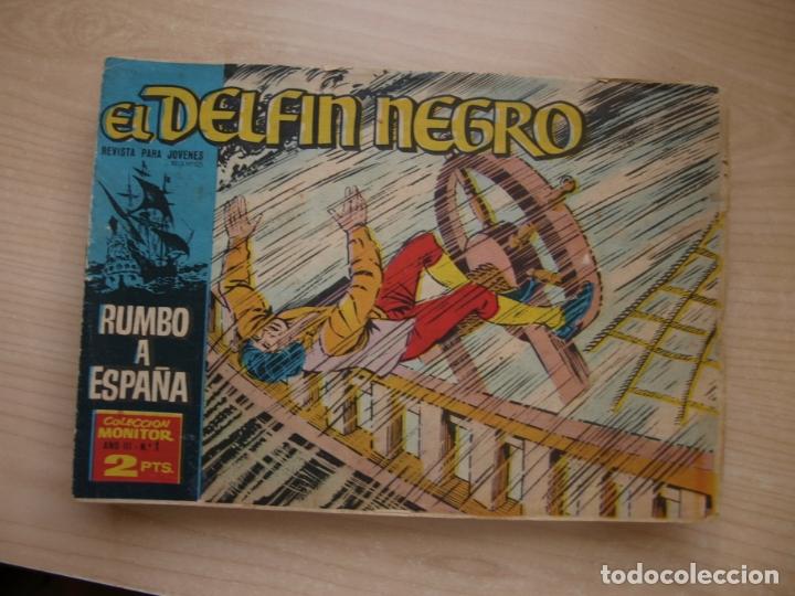 EL DELFIN NEGRO - COLECCION COMPLETA - 42 NÚMEROS - IBERO MUNDIAL (Tebeos y Comics - Tebeos Colecciones y Lotes Avanzados)