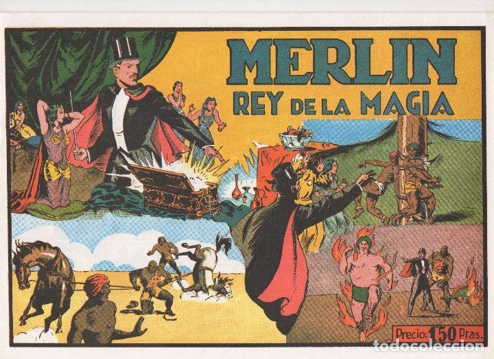 MERLIN PUBLICADO POR HISPANO AMERICANA DE EDICIONES A PARTIR DE 1.942 (Tebeos y Comics - Tebeos Colecciones y Lotes Avanzados)