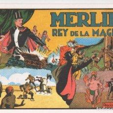 Tebeos: MERLIN PUBLICADO POR HISPANO AMERICANA DE EDICIONES A PARTIR DE 1.942. Lote 168433668