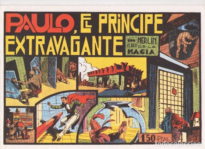 Tebeos: MERLIN publicado por Hispano Americana de Ediciones a partir de 1.942 - Foto 2 - 168433668
