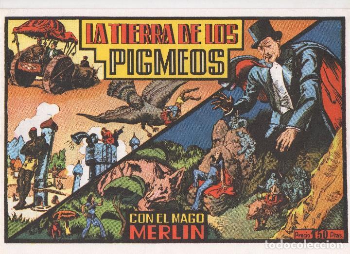 Tebeos: MERLIN publicado por Hispano Americana de Ediciones a partir de 1.942 - Foto 4 - 168433668