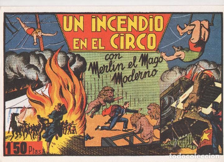 Tebeos: MERLIN publicado por Hispano Americana de Ediciones a partir de 1.942 - Foto 5 - 168433668