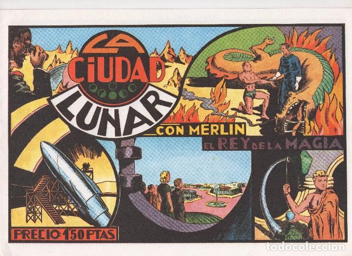 Tebeos: MERLIN publicado por Hispano Americana de Ediciones a partir de 1.942 - Foto 6 - 168433668