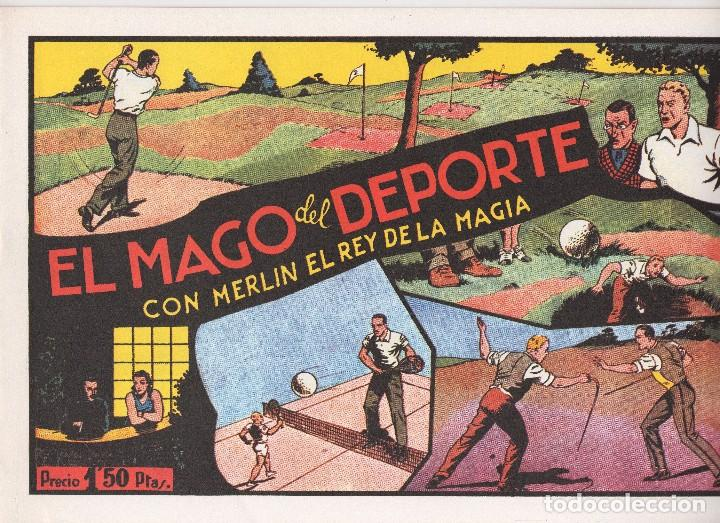Tebeos: MERLIN publicado por Hispano Americana de Ediciones a partir de 1.942 - Foto 8 - 168433668