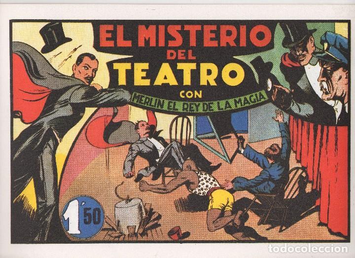 Tebeos: MERLIN publicado por Hispano Americana de Ediciones a partir de 1.942 - Foto 10 - 168433668