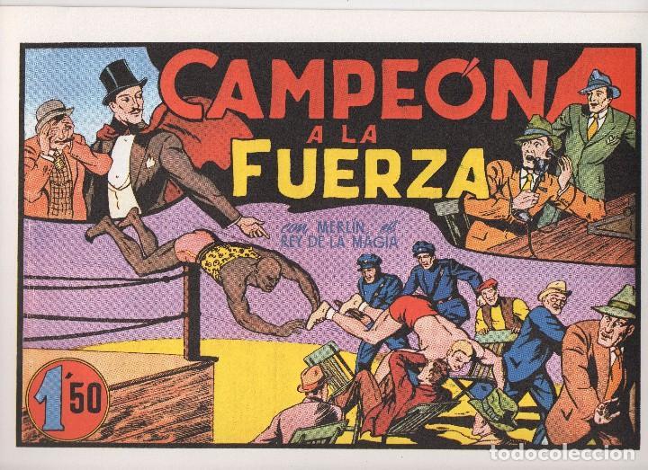 Tebeos: MERLIN publicado por Hispano Americana de Ediciones a partir de 1.942 - Foto 11 - 168433668