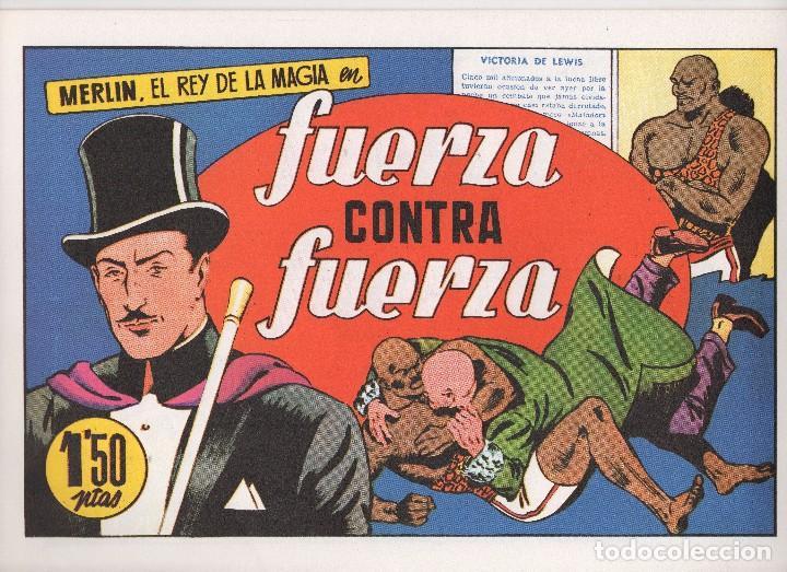 Tebeos: MERLIN publicado por Hispano Americana de Ediciones a partir de 1.942 - Foto 12 - 168433668