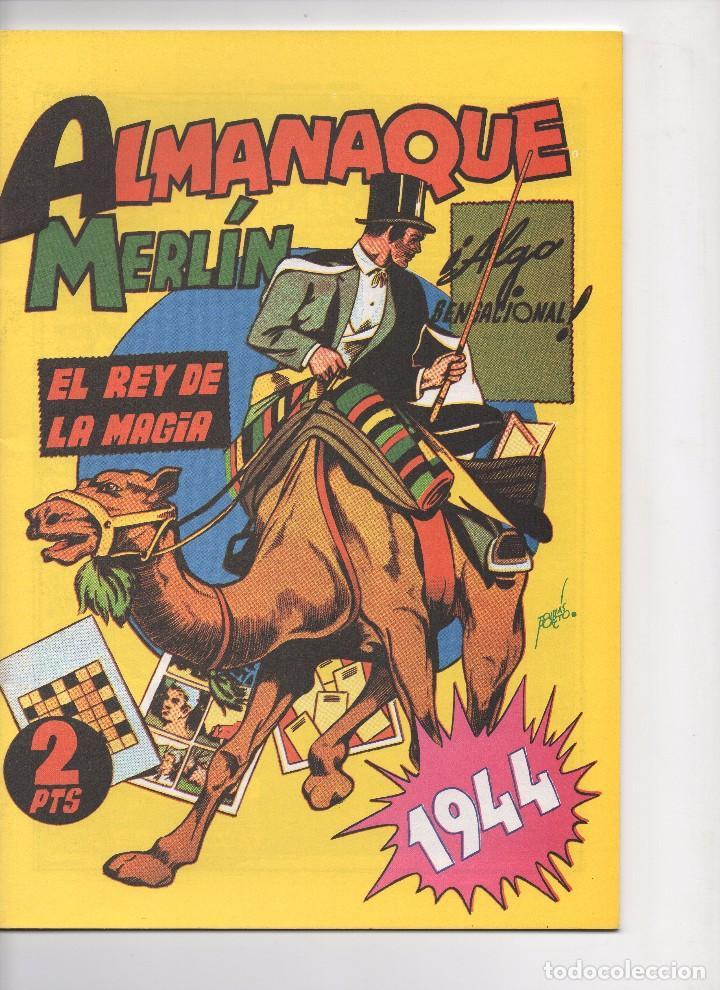 Tebeos: MERLIN publicado por Hispano Americana de Ediciones a partir de 1.942 - Foto 14 - 168433668