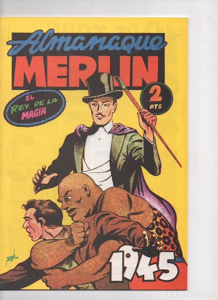 Tebeos: MERLIN publicado por Hispano Americana de Ediciones a partir de 1.942 - Foto 15 - 168433668