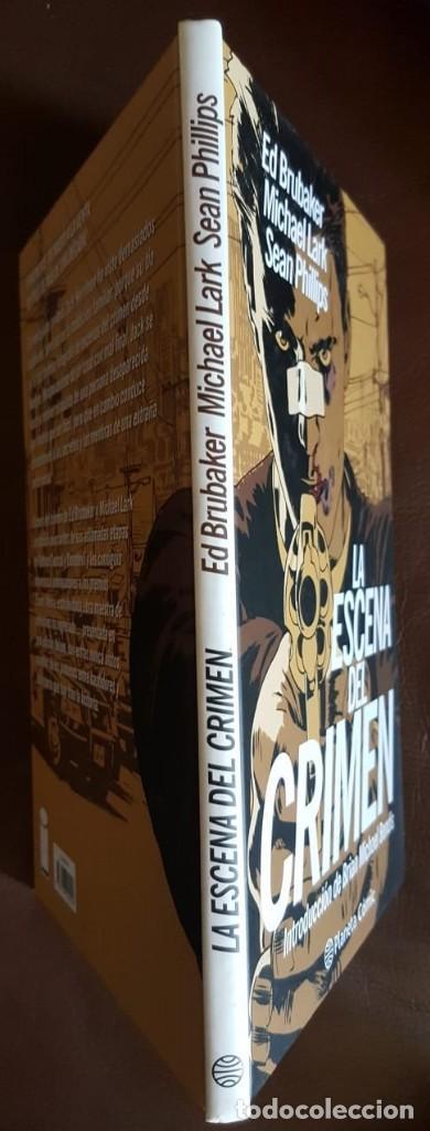 Tebeos: INTEGRAL, LA ESCENA DEL CRIMEN - ED BRUBAKER -TAPA DURA PLANETA 2012 - VER DESCRIPCIÓN Y FOTOS - Foto 3 - 168788620