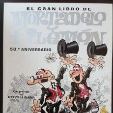 Tebeos: EL GRAN LIBRO DE MORTADELO Y FILEMÓN 50 º ANIVERSARIO (2007) INCLUYE EL DVD -VER FOTOS Y DESCRIPCIÓN. Lote 168857536