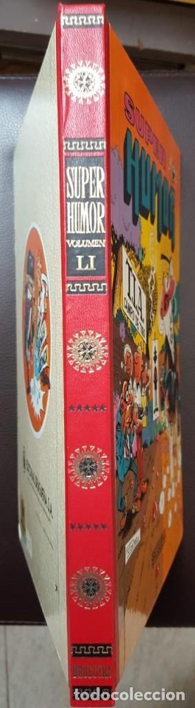 Tebeos: SUPER HUMOR, TOMO LI (51) 1ª EDICIÓN (1985) BRUGUERA, - VER FOTOS - Foto 2 - 168892500