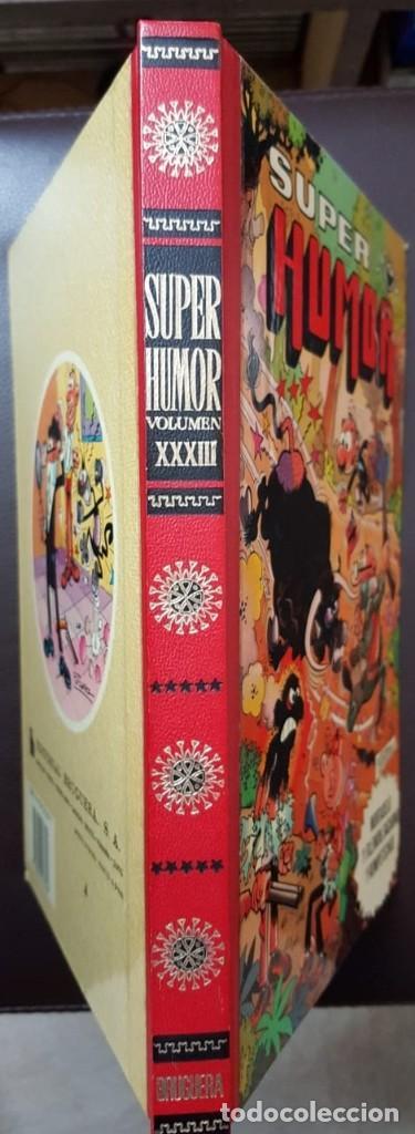 Tebeos: SUPER HUMOR, TOMO XXXIII (33) 2ª EDICIÓN (1983) BRUGUERA, - VER FOTOS - Foto 2 - 168893332