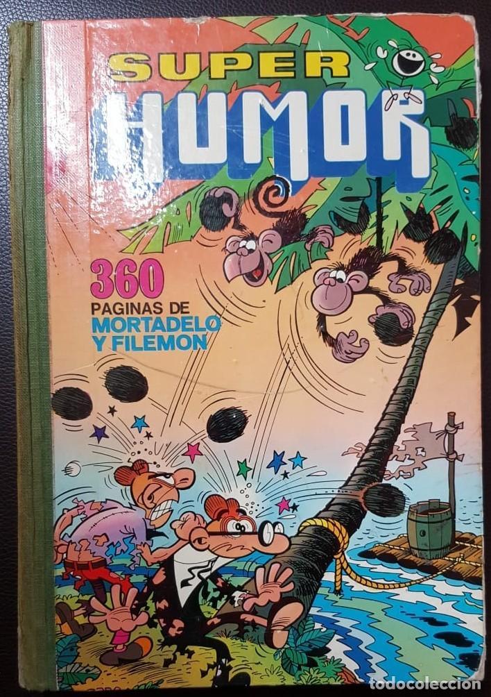 SUPER HUMOR VOLUMEN XI, (11) 2ª EDICIÓN (1979) LOMO EN TELA, BRUGUERA, - VER FOTOS (Tebeos y Comics - Tebeos Colecciones y Lotes Avanzados)