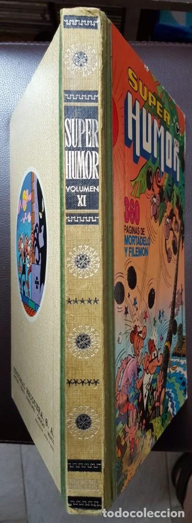 Tebeos: Super humor VOLUMEN XI, (11) 2ª EDICIÓN (1979) LOMO EN TELA, BRUGUERA, - VER FOTOS - Foto 2 - 168894764