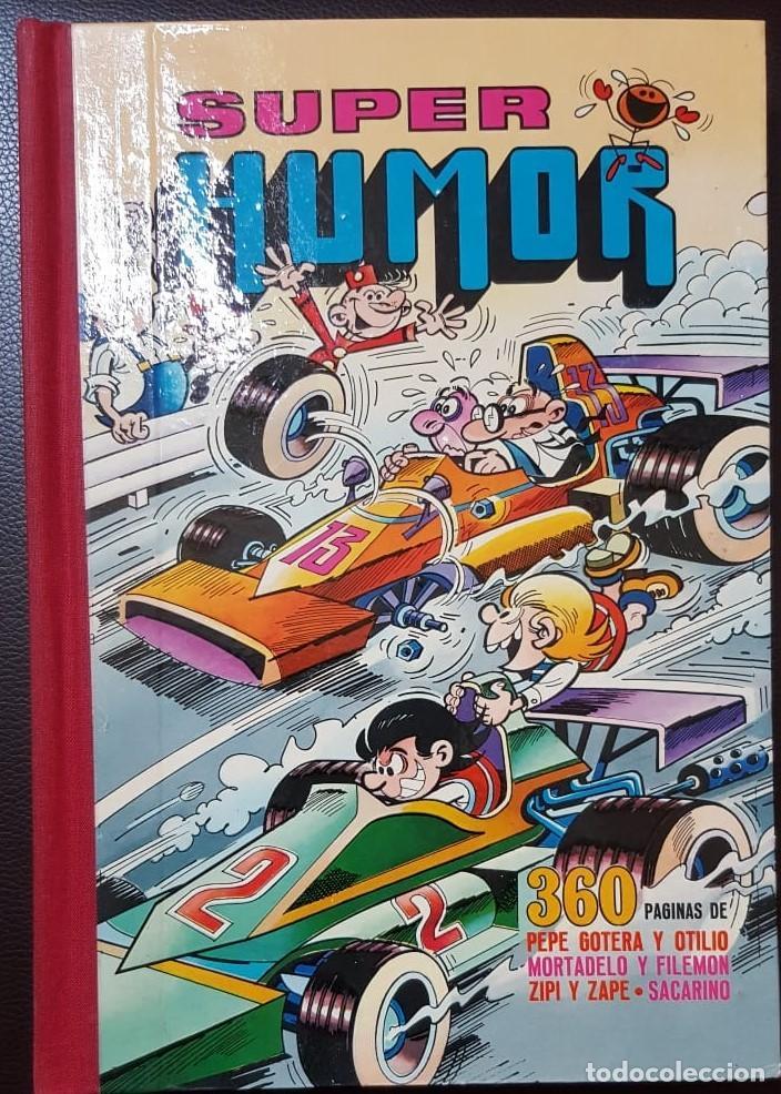 SUPER HUMOR VOLUMEN XV, (15) 1ª EDICIÓN (1977) LOMO EN TELA, - BRUGUERA, - VER FOTOS (Tebeos y Comics - Tebeos Colecciones y Lotes Avanzados)