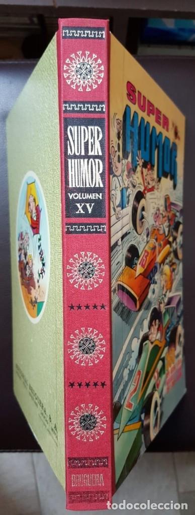 Tebeos: SUPER HUMOR VOLUMEN XV, (15) 1ª EDICIÓN (1977) LOMO EN TELA, - BRUGUERA, - VER FOTOS - Foto 2 - 168895700