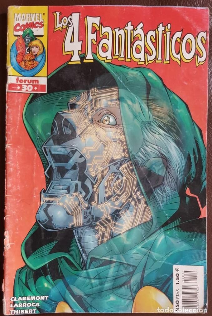 LOS 4 FANTÁSTICOS Nº 30,- FORUM (Tebeos y Comics - Tebeos Colecciones y Lotes Avanzados)