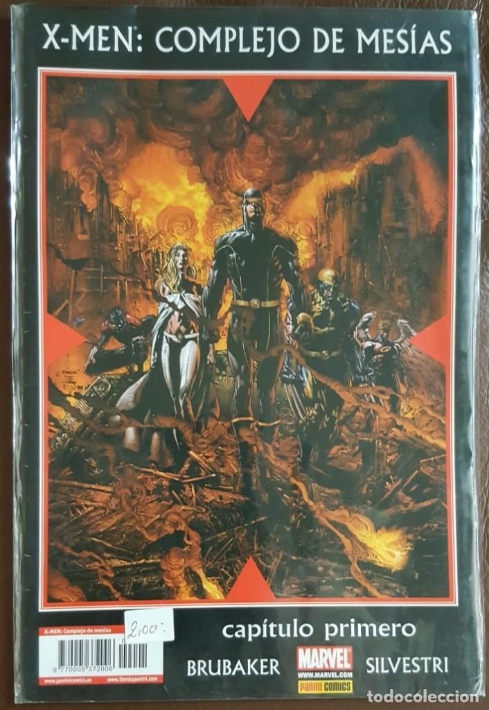 X - MEN: COMPLEJO DE MESÍAS, - CAPITULO PRIMERO - PANINI COMICS (Tebeos y Comics - Tebeos Colecciones y Lotes Avanzados)