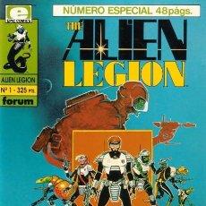 Tebeos: THE ALIEN LEGION. FORUM 1991. COLECCIÓN COMPLETA (11 EJEMPLARES). Lote 169369478