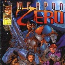 Tebeos: WEAPON ZERO. WORLD COMICS 1997. COLECCIÓN COMPLETA (6 EJEMPLARES). Lote 169369498