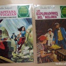 Tebeos: JOYAS LITERARIAS JUVENILES - LOTE DE 154 NÚMEROS - BRUGUERA - VER PORTADAS Y NÚMERACION - S. Lote 169435250