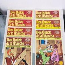 Livros de Banda Desenhada: DON QUIJOTE DE LA MANCHA. EDITORIAL BRUGUERA, S. A 1978 CRUZ DELGADO. Lote 169465976