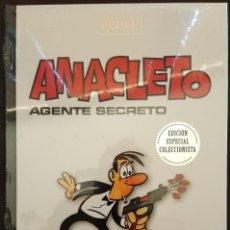 Tebeos: ANACLETO AGENTE SECRETO, CLÁSICOS DEL HUMOR, RBA, EDICIONES (A ESTRENAR - NUEVO). Lote 169538708