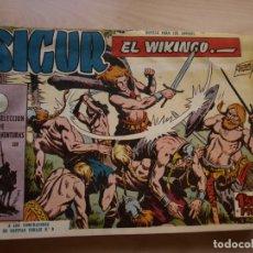 Tebeos: SIGUR EL WIKINGO - COLECCION COMPLETA - 33 NÚMEROS - TORAY - VER FOTOS DE TODAS LAS PORTADAS. Lote 169762804
