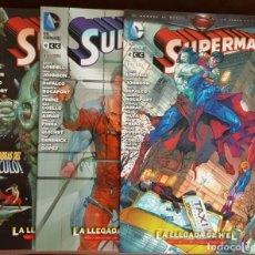 Tebeos: SUPERMAN - LA LLEGADA DE H´EL - COMPLETA, 3 TOMOS - ECC (2013), VER FOTOS Y DESCRIPCIÓN. Lote 169908464