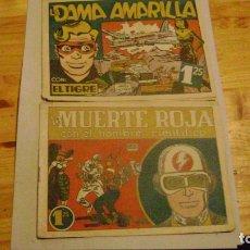 Tebeos: EDICIONES GENIES 1949 HEROES DE LA AVENTURA EL TIGRE Y EL HOMBRE CIENTIFICO CJ 5. Lote 169928348