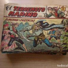 Tebeos: EL TERREMOTO MARINO - COLECCION COMPLETA - 48 NÚMEROS - ORIGINAL - MAGA - VER TODAS LAS PORTADAS. Lote 170124636