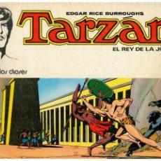 Tebeos: TARZAN -EL REY DE LA JUNGLA- COMPLETA 1 AL 8. NOVARO,1976. BUENOS.. Lote 170385048