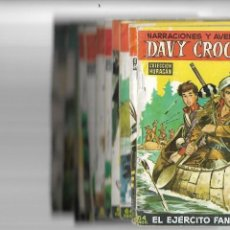 Tebeos: DAVY CROCKETT, AÑO 1958 COLECCIÓN COMPLETA SON 12 TEBEOS ORIGINALES NO SE VE NINGUNA COMPLETA. Lote 170931920